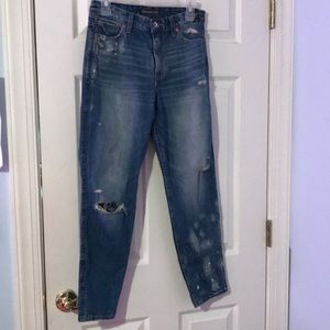 Abercrombie high rise girlfriend jeans